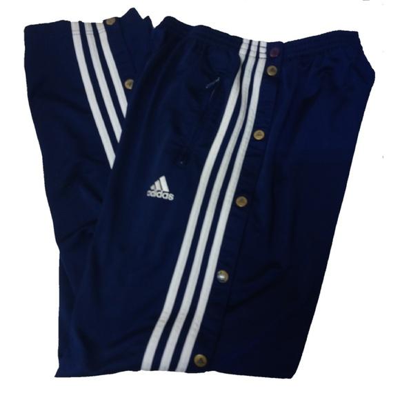 14c322d900 Adidas Adibreak Blue Track Pants Vtg 90s Small